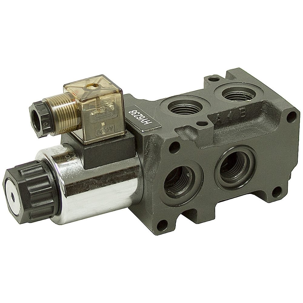hight resolution of 12 24 volt dc 13 2 gpm sae 8 solenoid operated double selector valve