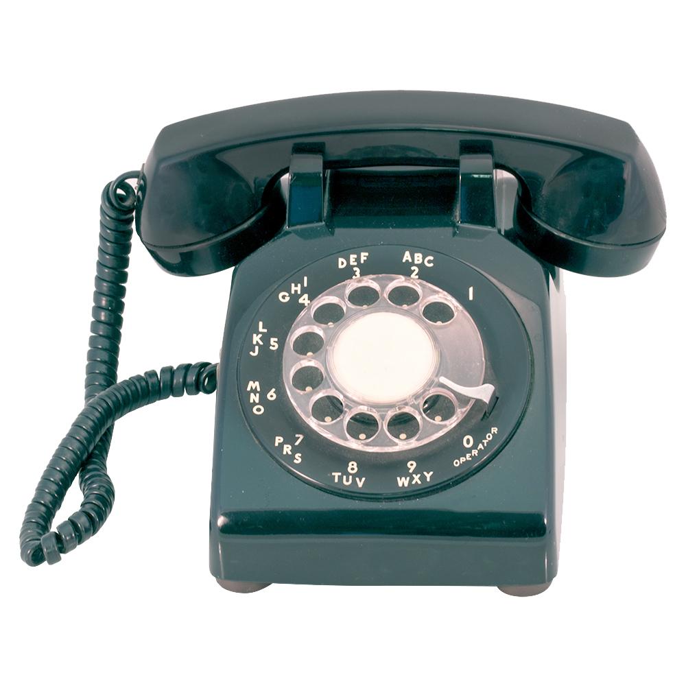 hight resolution of vintage rotary desk phone enlarge image