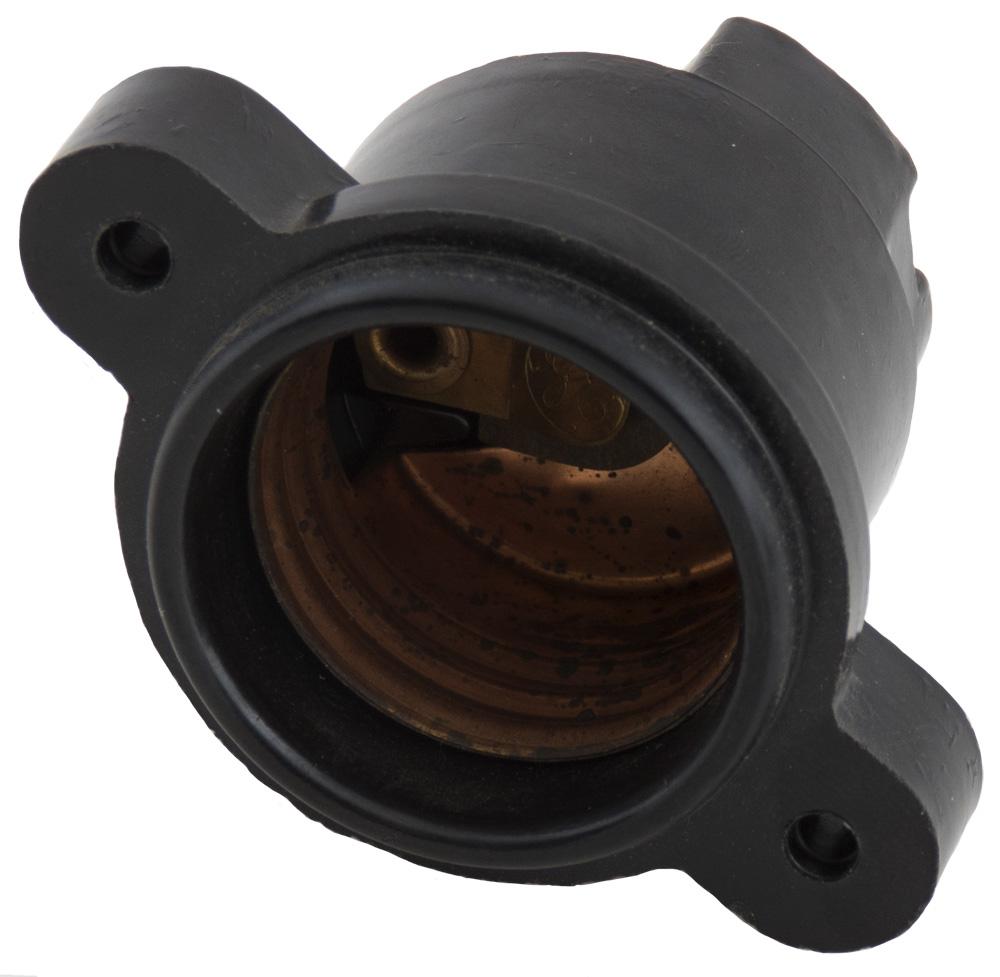 medium resolution of bakelite g e light socket or fuse base