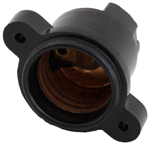 small resolution of bakelite g e light socket or fuse base