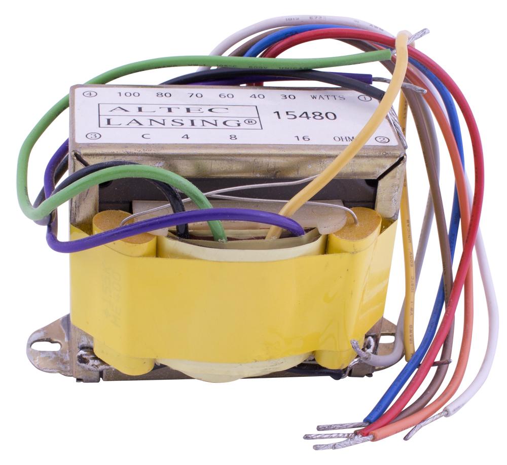 hight resolution of altec lansing speaker matching transformer