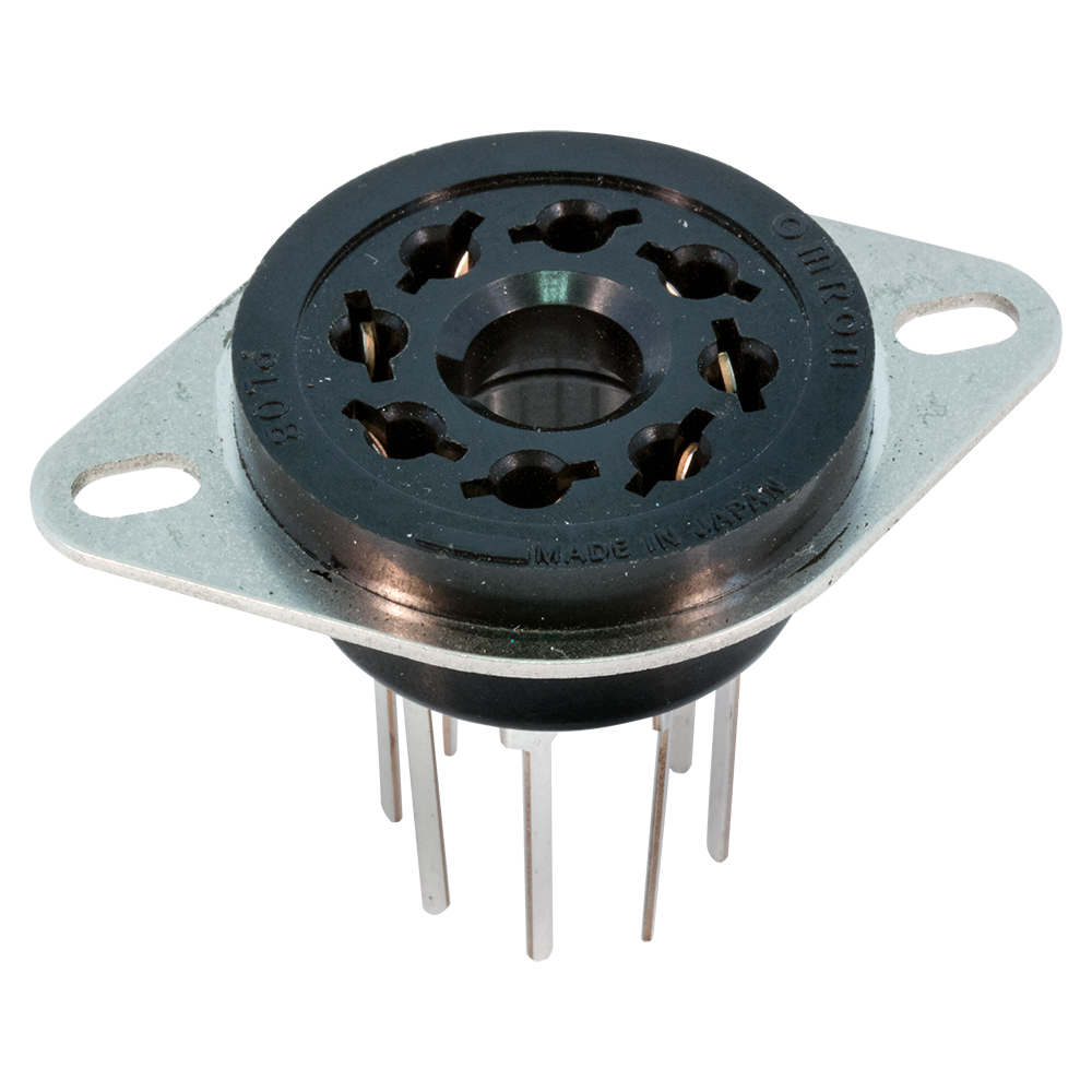 hight resolution of octal wire wrap socket 8 pin enlarge image
