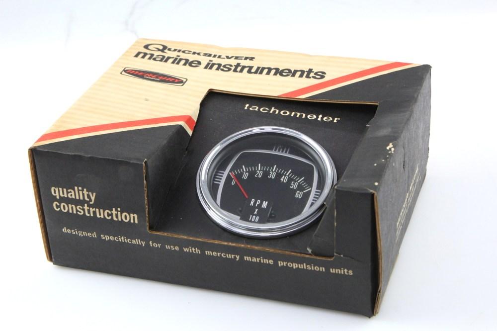 medium resolution of details about quicksilver mercury thunderbolt ignition tachometer rpm 0 60 65794 a2