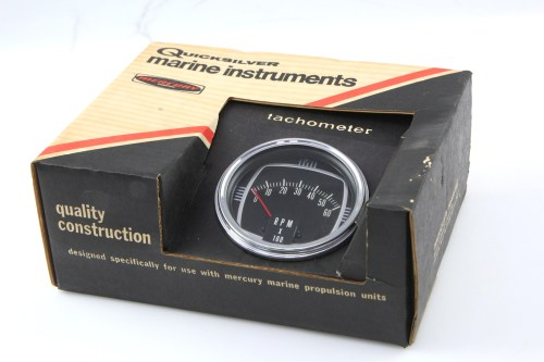 small resolution of details about quicksilver mercury thunderbolt ignition tachometer rpm 0 60 65794 a2