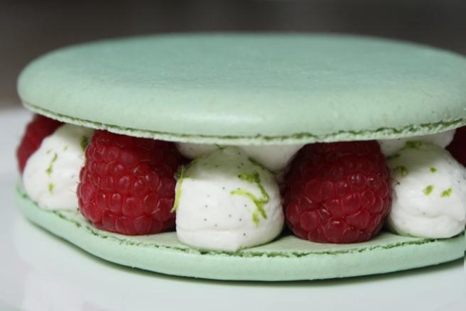 macaron-vanille-fraise-framboise2