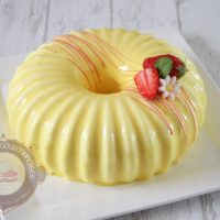 Yellow de Christophe Felder (entremets fraise citron)