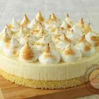 Gâteau nuage aux 2 citrons