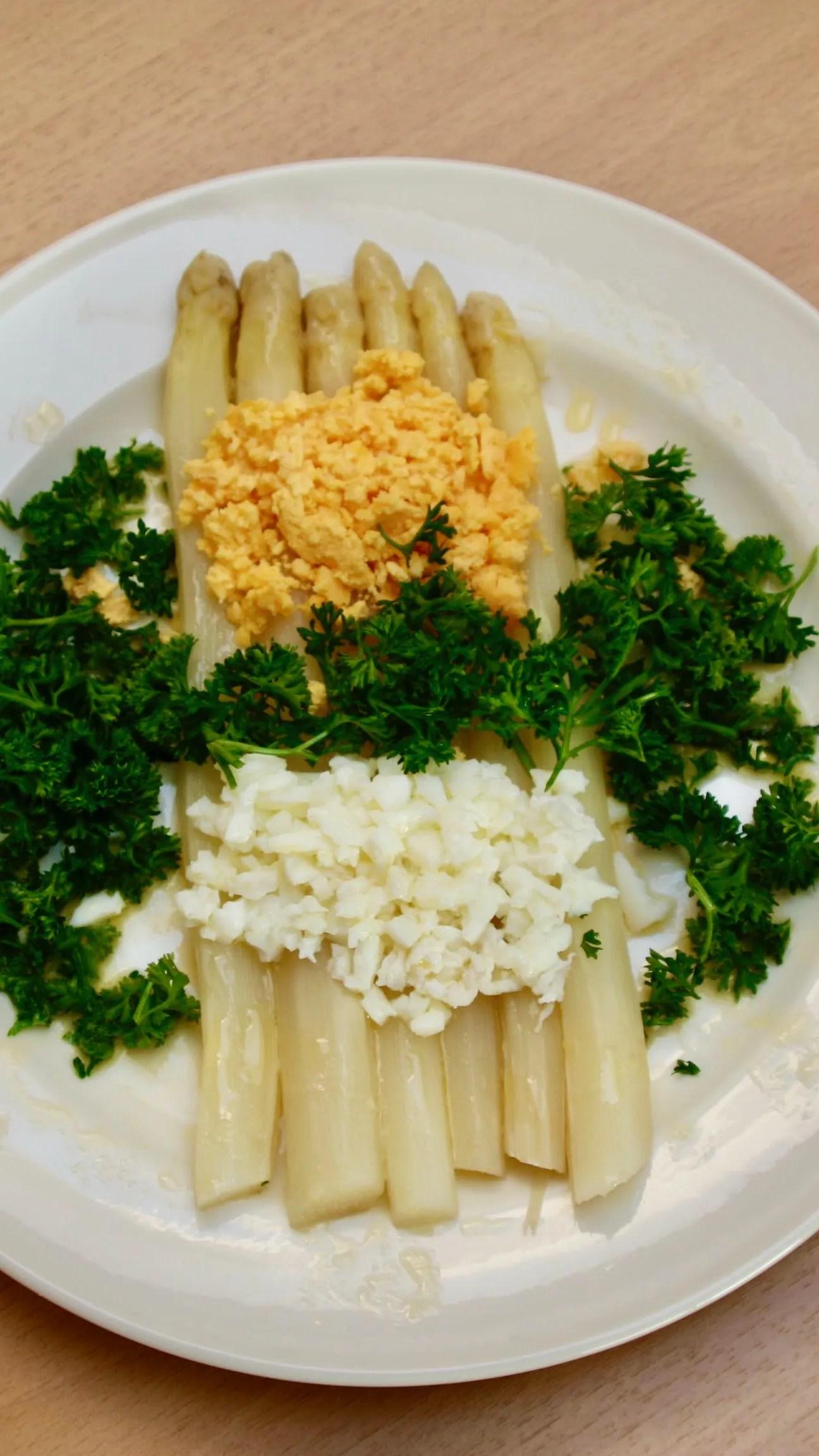 Flemish asparagus