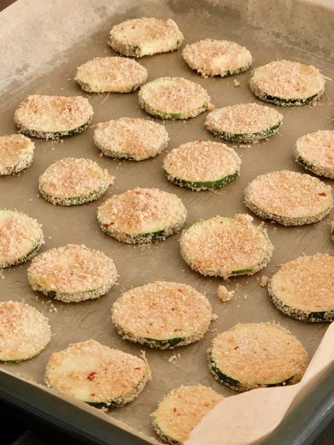crispy goldenbrown zucchini chips