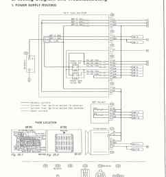 surrealmirage subaru legacy swap electrical info notes subaru outback ecm wiring sheet [ 1219 x 1647 Pixel ]