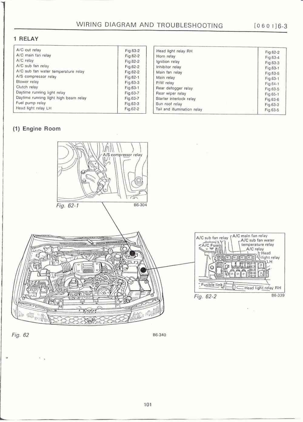 medium resolution of 6 3 electrical unit location02 surrealmirage subaru legacy swap electrical info notes subaru outback engine room fuse box
