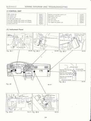 Surrealmirage  Subaru Legacy Swap Electrical info & notes