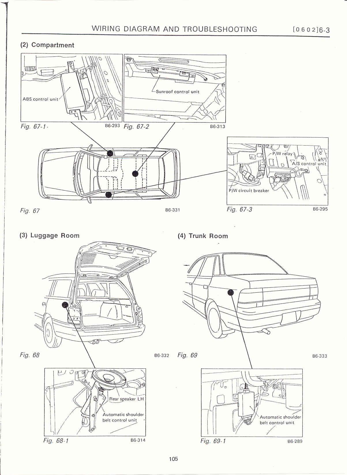 subaru legacy ecu wiring diagram airplane wing parts surrealmirage - swap electrical info & notes