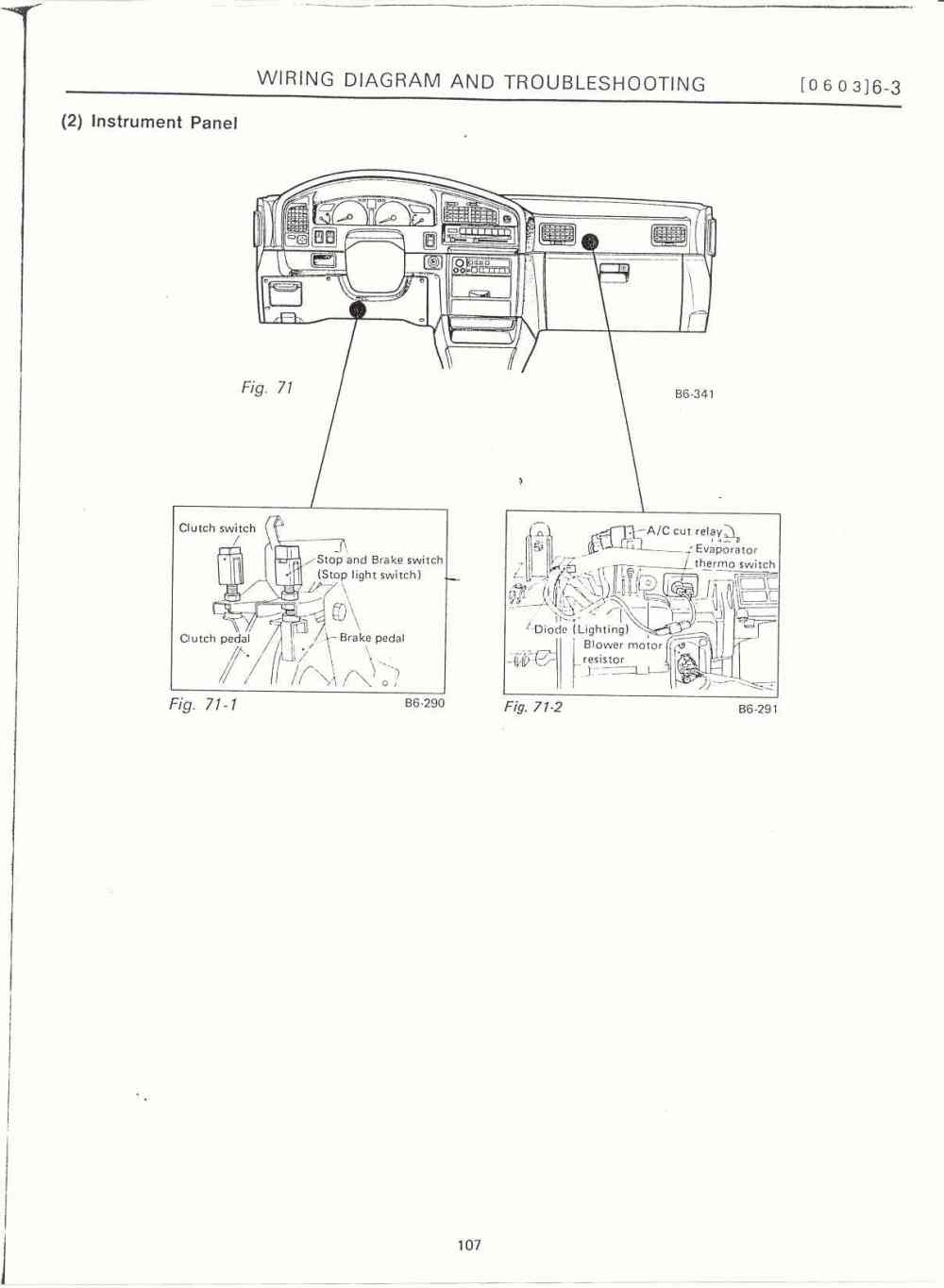 medium resolution of 1991 ford f 150 fuse box diagram and relay