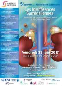 Journée scientifique sur les insuffisances surrénaliennes 2017