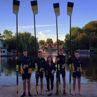 NOV 4+ Winners - Walton & Weybridge Regatta 2014