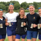 Winners of the Tier 1 coxed fours.