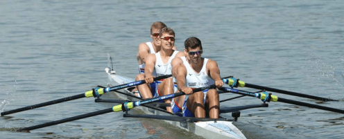 George Stewart (b) - U23 World Championships GB 4+