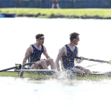 The Surrey championship pair winning gold!