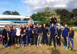 The whole squad that raced at Notts City Regatta.