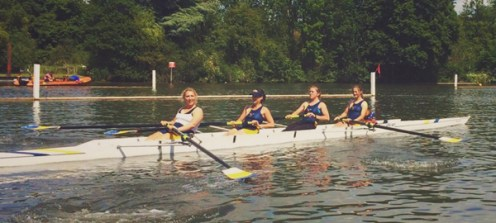 Women's Academic 4+ at Henley Women's Regatta