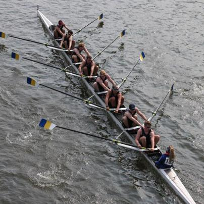 Development men's 8+ at HORR 2019 (Beginner Academic)