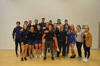 Senior Squad at BUCS Indoors 2019