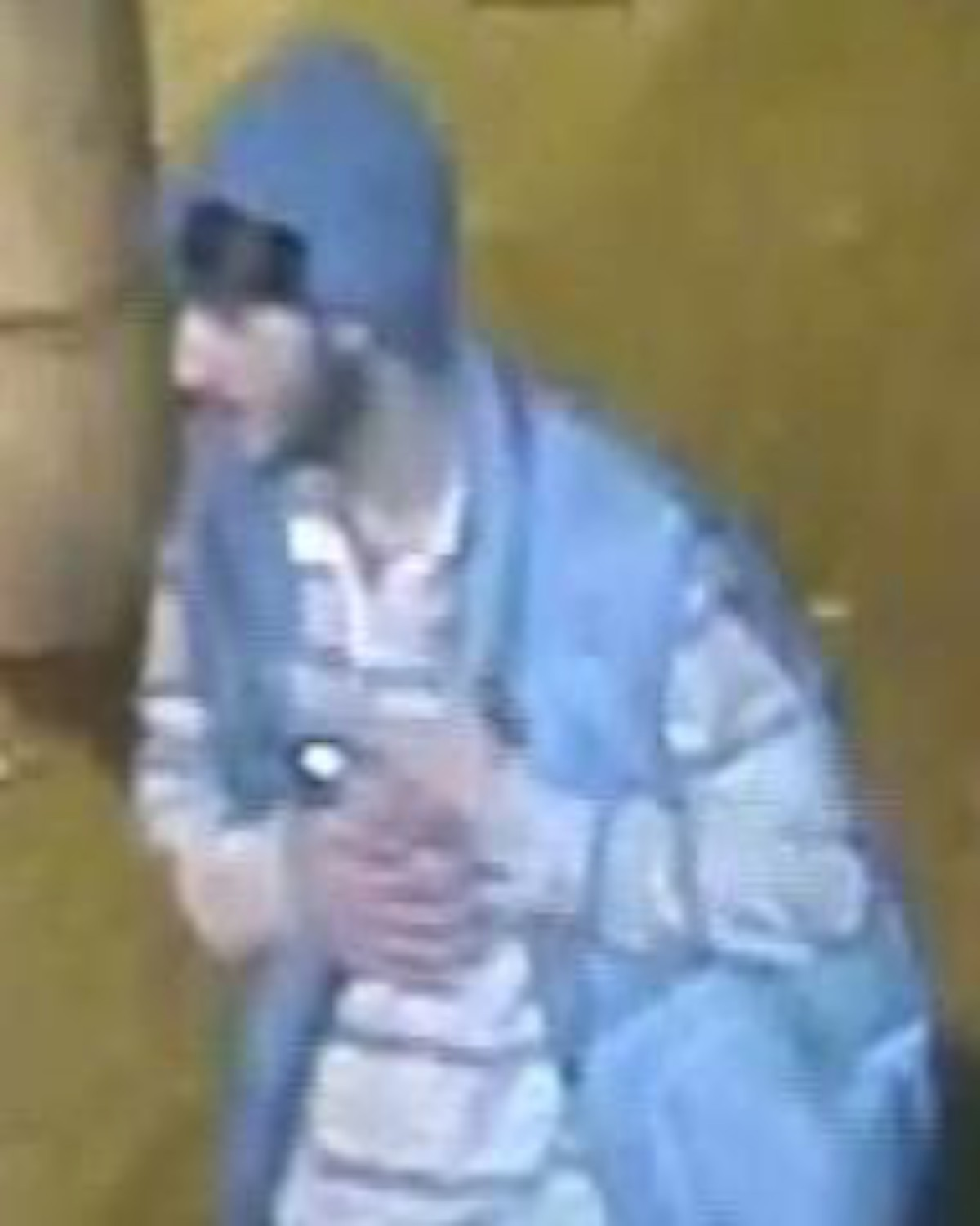Surrey Comet: Police would like to speak to this man about the attack on October 5