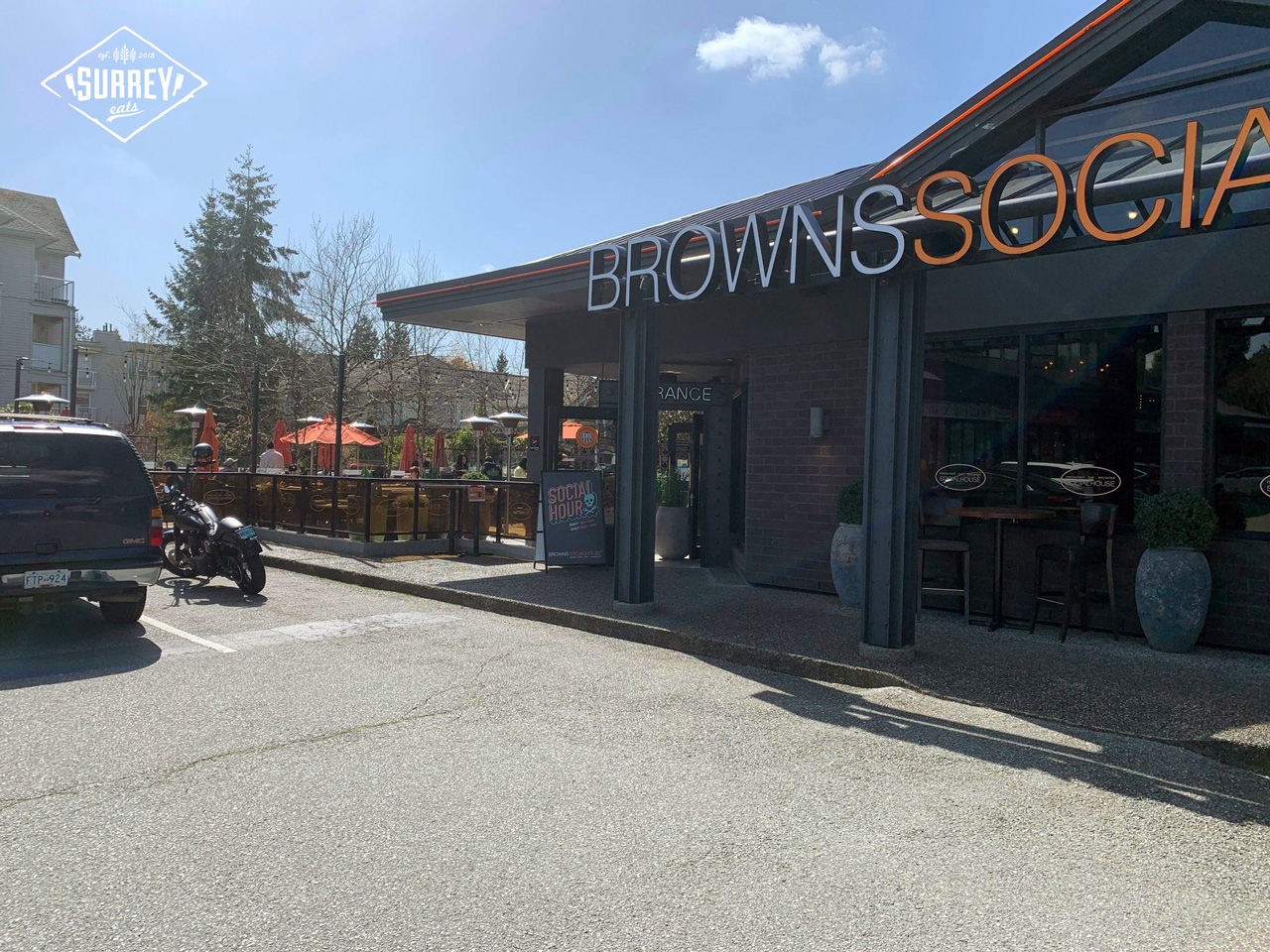 Browns Social House Guildford Outside View