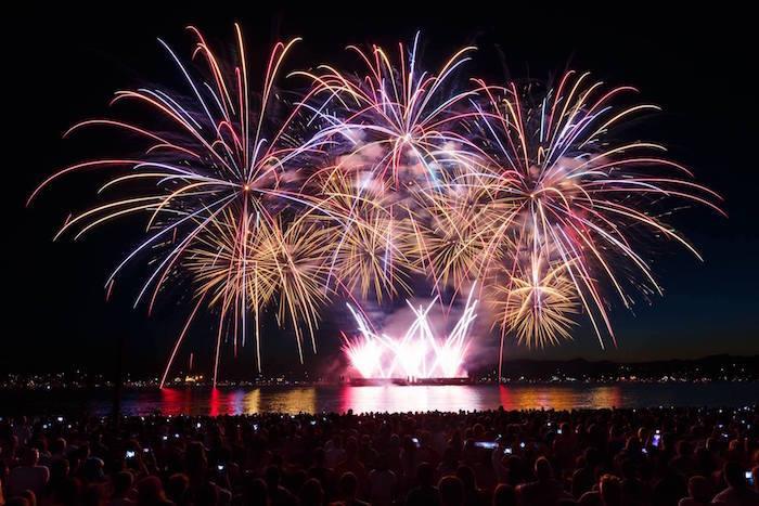 Fireworks Vancouver Festival Of Lights