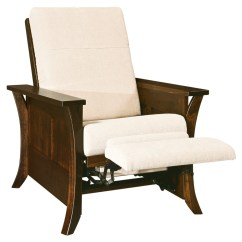 Wood Recliner Chair Stackable Banquet Chairs Canada Amish Caledonia Accent Surrey Street Rustic