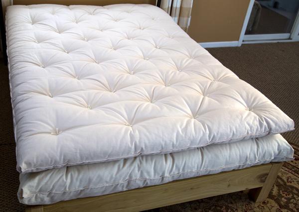 Standard ECOPure Wool Mattress Topper  Made in USA Wool