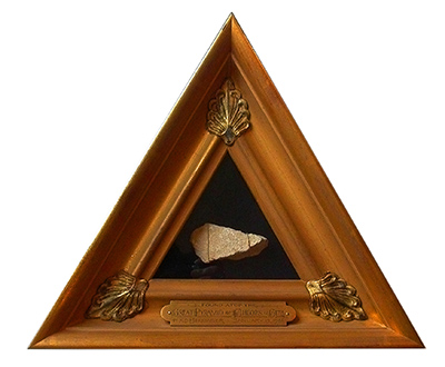 Object Framing - Artifact from Great Cheops Pyramid