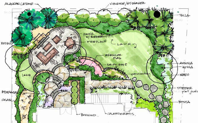 Landscape Design House
