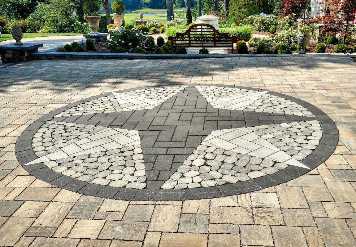 Should You Use Flagstone or Pavers in Your Backyard Patio Design  Surrounds Landscape Architecture