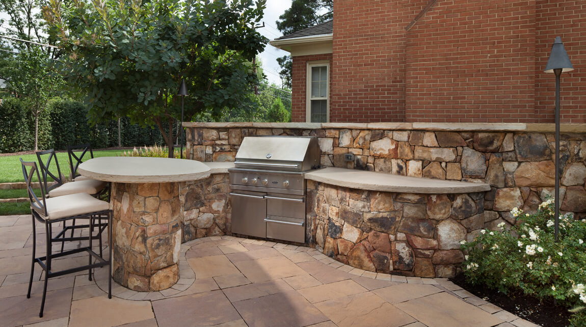 grill for outdoor kitchen mosaic backsplash everything you need to know plan your outside surrounds station patio