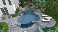 A Right-Sized Swimming Pool Design In Herndon Virginia ...