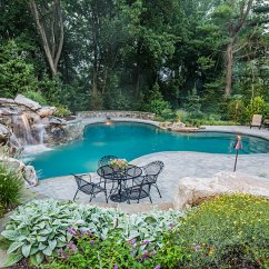 Pictures Of Kitchen Designs And Bathroom Remodeling Waterfalls, Custom Swimming Pool, Outdoor ...