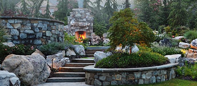 Easy Rock Garden Designs