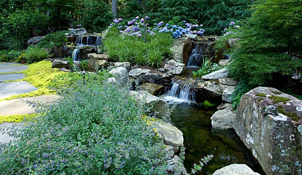 water features fountains waterfalls