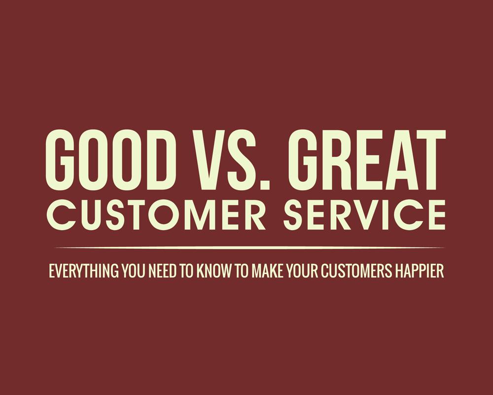 infographic good vs great