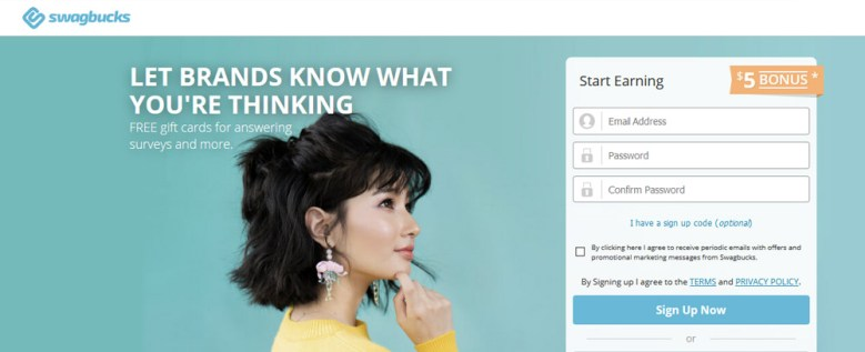sito web di swagbucks