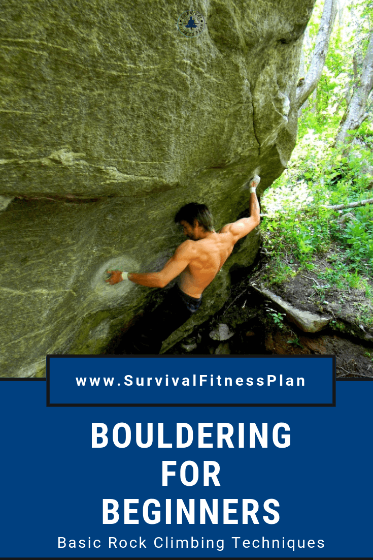 Pin, Bouldering for Beginners, Survival Fitness Plan
