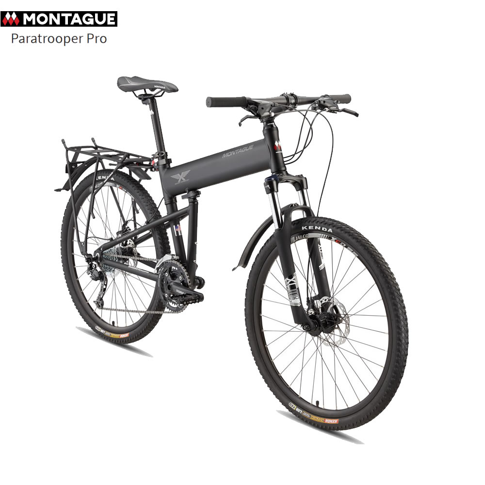 Paratrooper PRO Folding Mountain Bike by Montague