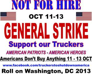 truckers strike