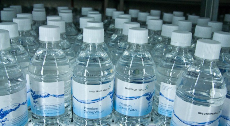 Different Types of Bottled Water