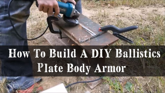 How To Build A DIY Ballistics Plate Body Armor