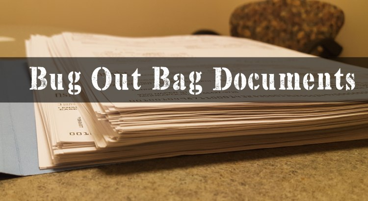 bug out bag documents best guide on how to make them With bug out bag documents