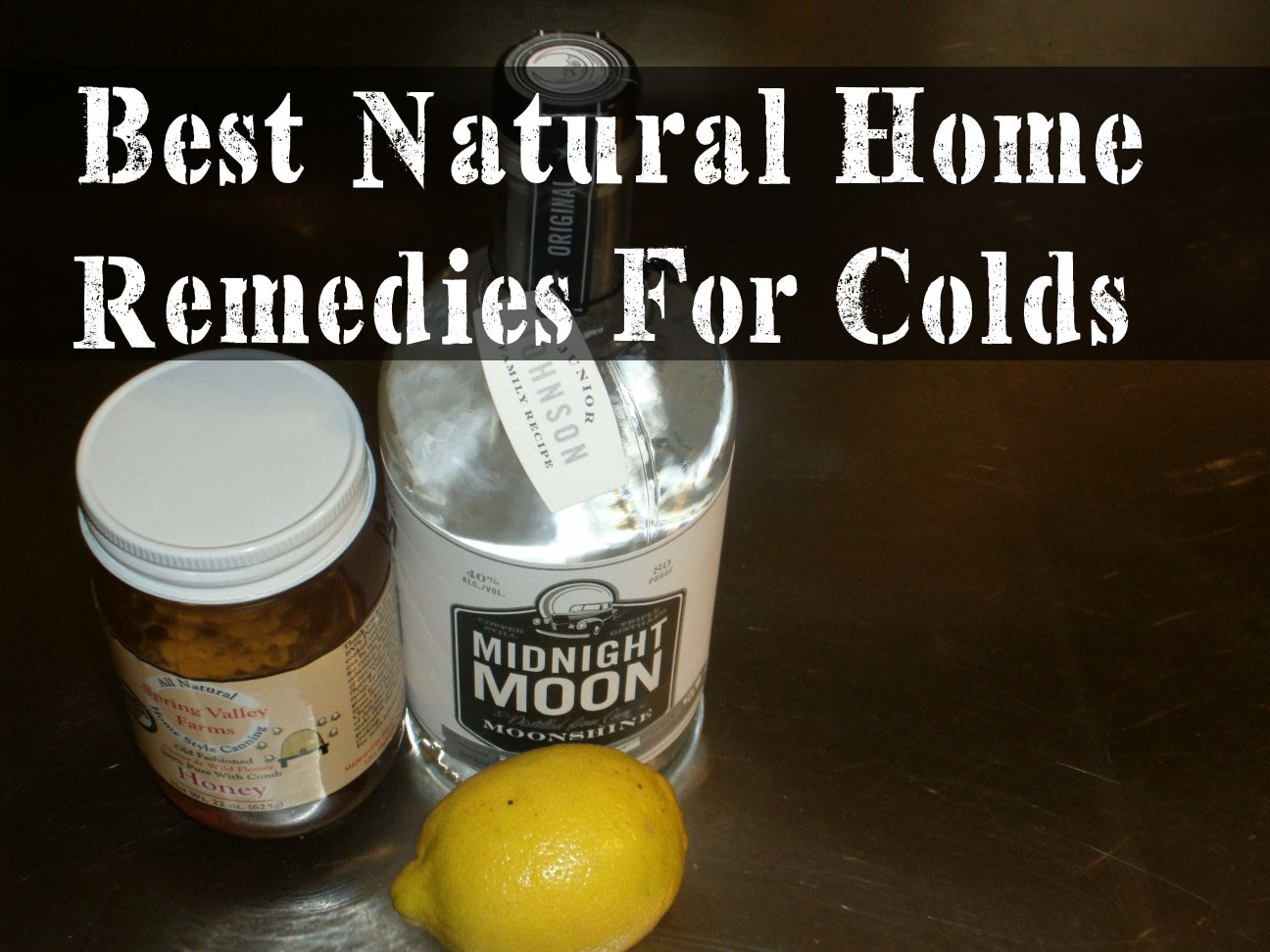 Fighting Colds Natural Remedies