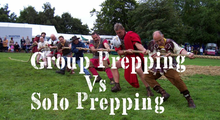 Group Prepping Vs Solo Prepping | episode 140